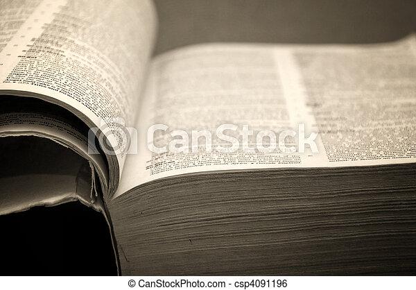 Open book - csp4091196