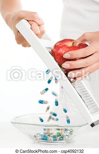 Vitamins - csp4092132