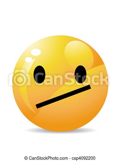 Smiley  - csp4092200