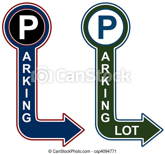 Parking Structure Sign - csp4094771