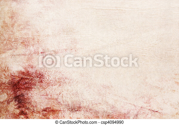 Textured red pink beige background with space for text or image - scrapbooking - csp4094990