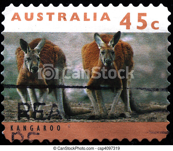 AUSTRALIA - CIRCA 1994: A stamp pr - csp4097319