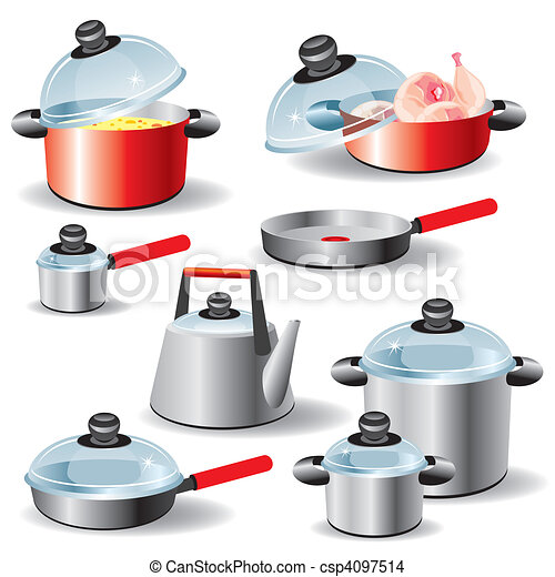Kitchen Utensils Drawings Kitchen Utensils Set of