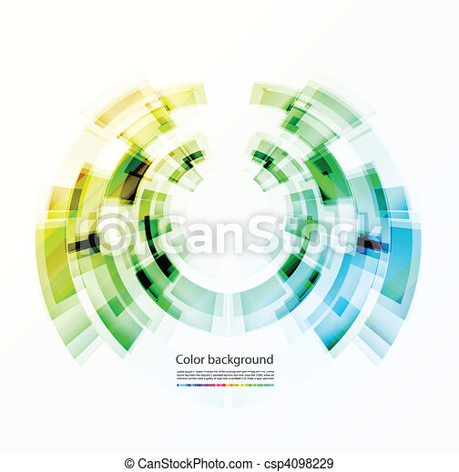 Abstract color background - csp4098229