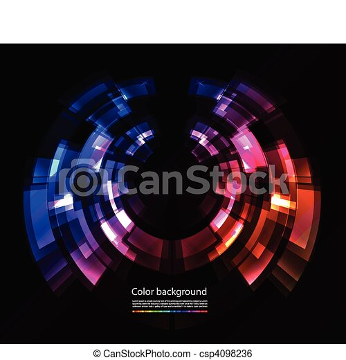 Abstract color background - csp4098236