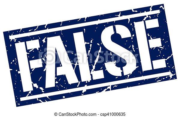 false square grunge stamp - csp41000635