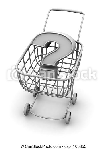 Consumer\'s basket with question - csp4100355