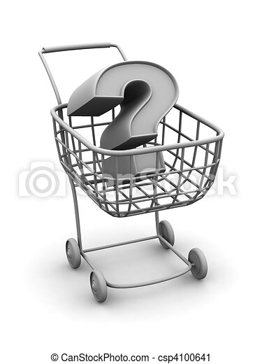 Consumer's basket with question - csp4100641