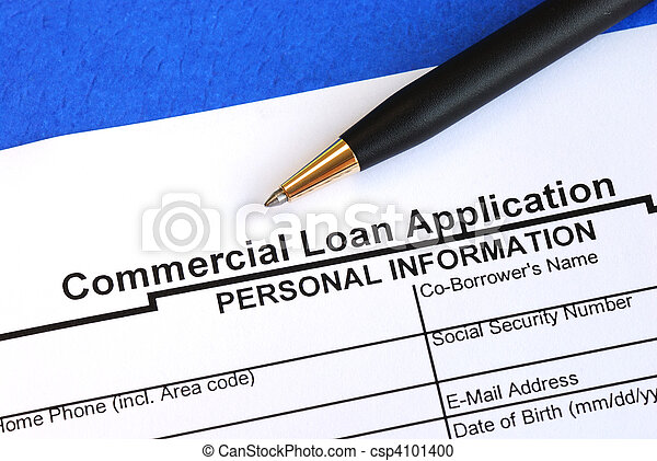 Commercial loan application - csp4101400