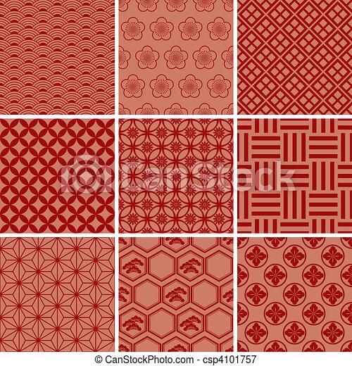 Schwedische traditionelle muster  Vektoren Illustration von traditionelle , muster, japanisches ...