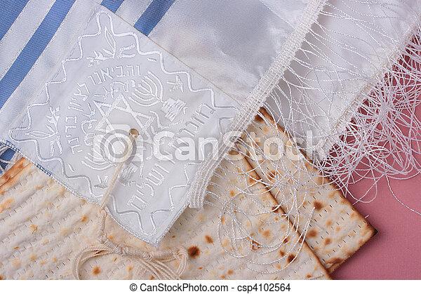 Jewish symbols - csp4102564