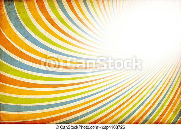 Abstract vintage colorful background. Useful as background for design works. - csp4103726