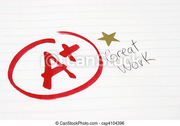 Test Grade - csp4104396