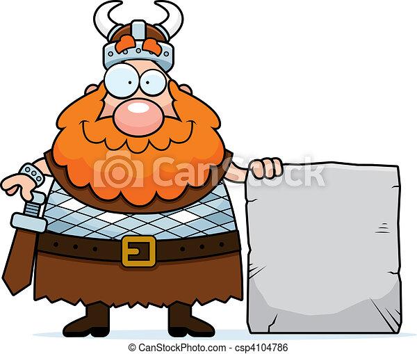 clip art vecteur de viking signe a heureux dessin. Black Bedroom Furniture Sets. Home Design Ideas