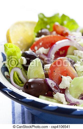 Greek Salad - csp4106541