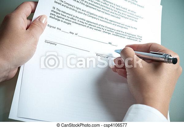 employment agreement - csp4106577