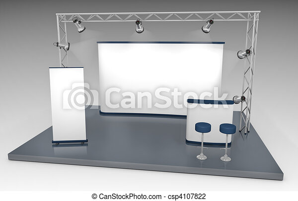 Trade Exhibition Stand - csp4107822