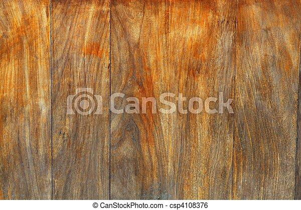 aged honey weathered wood background - csp4108376