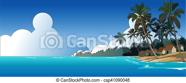 Beautiful Beach - csp41090048