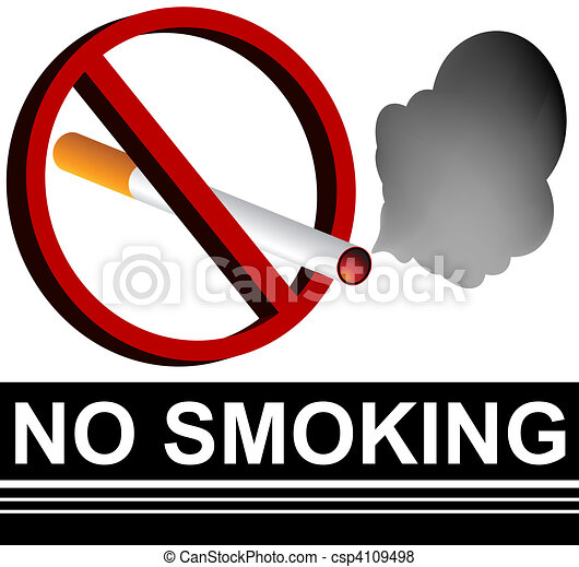 No Smoking Sign - csp4109498