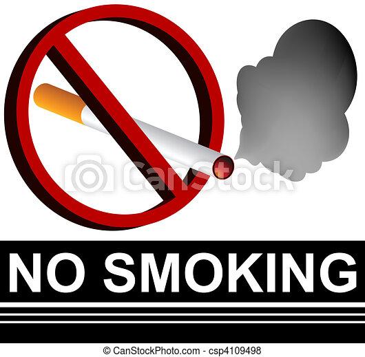 No Smoking Sign - csp4109498