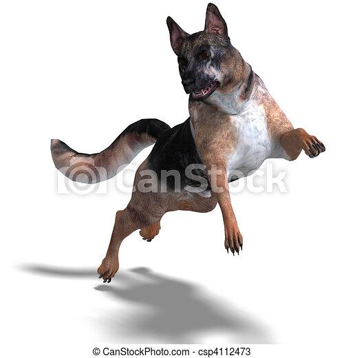 Dessins de chien berger coupure allemand sur rendre - Dessin de chien berger allemand ...