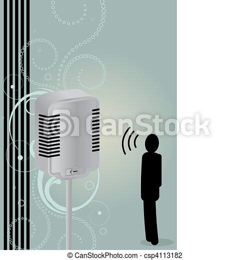 Say it loud - csp4113182