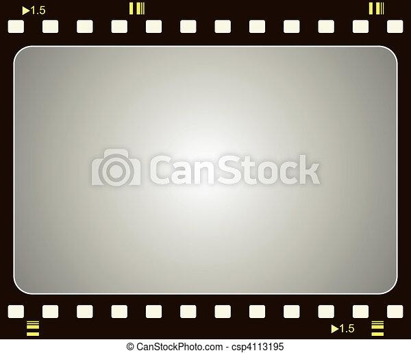 Film frame - csp4113195