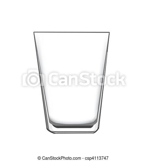 illustrations vectoris es de verre boire une vide verre pour concept ou l ments. Black Bedroom Furniture Sets. Home Design Ideas