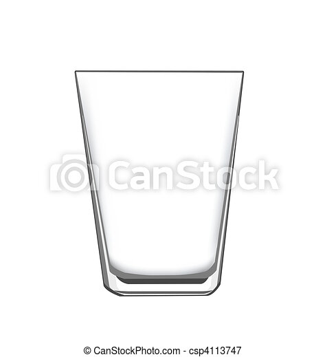 drinking glass - csp4113747