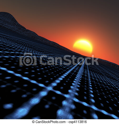 Technology Horizon - csp4113816