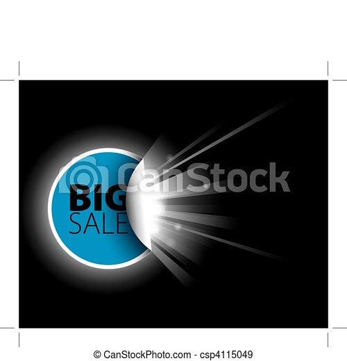 sale label with surprise - csp4115049