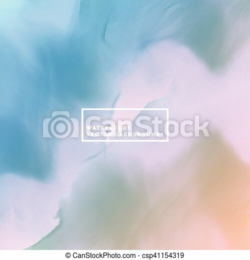 water color background in soft colors - csp41154319