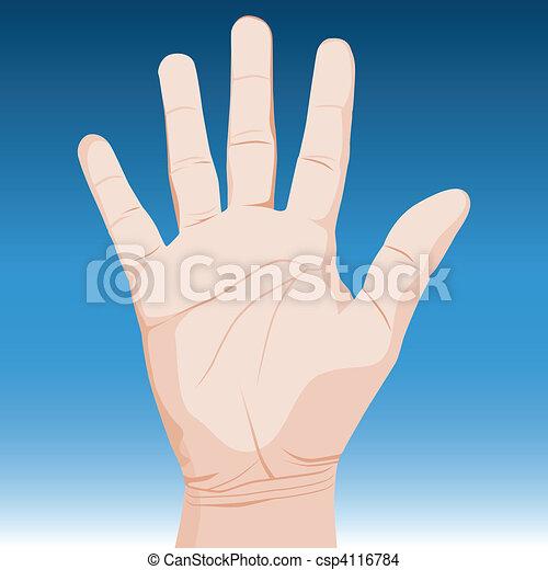 Hand - csp4116784