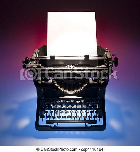 Stock Photo of Vintage... Vintage Typewriter Paper Photography