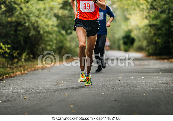 young athlete runner - csp41182108