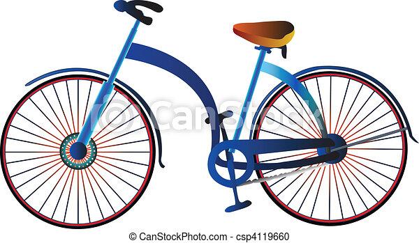 自転車の 自転車 画像 絵 : Retro Bicycle Clip Art