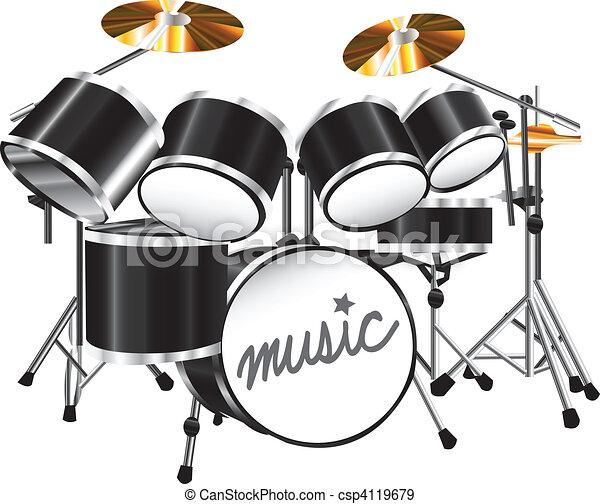 drum set - csp4119679