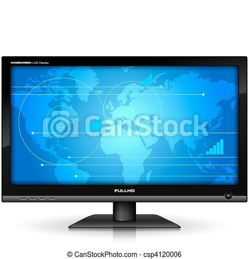 Widescreen TFT display - csp4120006