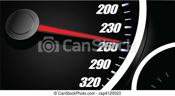 vecteurs de voiture sport compteur vitesse sport voiture compteur csp4120023. Black Bedroom Furniture Sets. Home Design Ideas