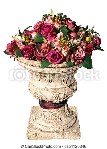 Large Arrangement of Artificial Roses - csp4120346