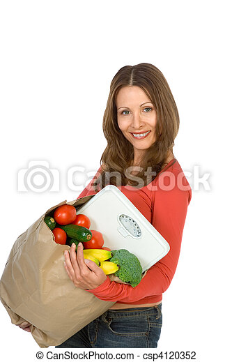 Healthy food - csp4120352
