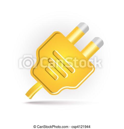 yellow plug in - csp4121944