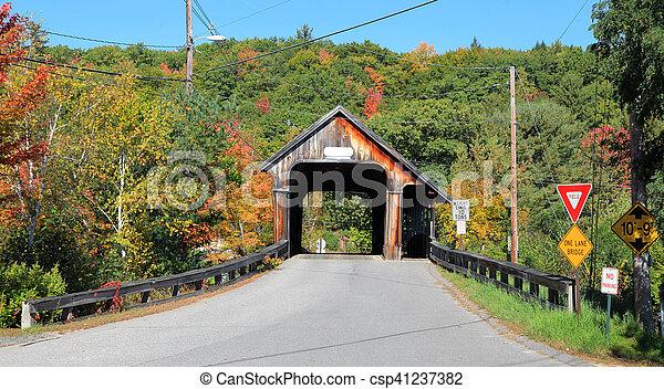 coberto, squam, rio, ponte - csp41237382