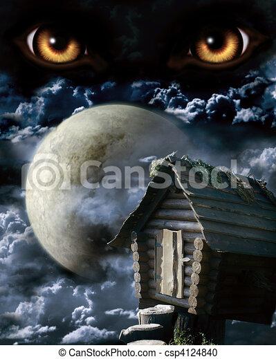 Full moon - csp4124840