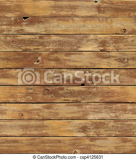 Distressed wooden surface seamlessly tileable - csp4125631