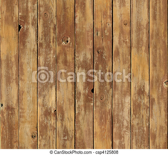 Distressed vertical wood board surface seamlessly tileable - csp4125808