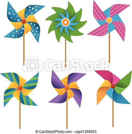 Pinwheels - csp41258253