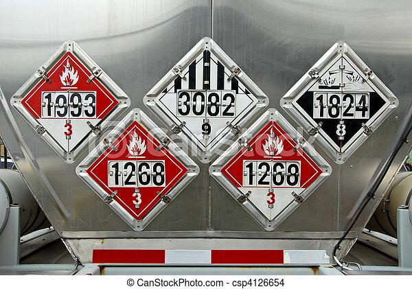 Transportation Placards - csp4126654