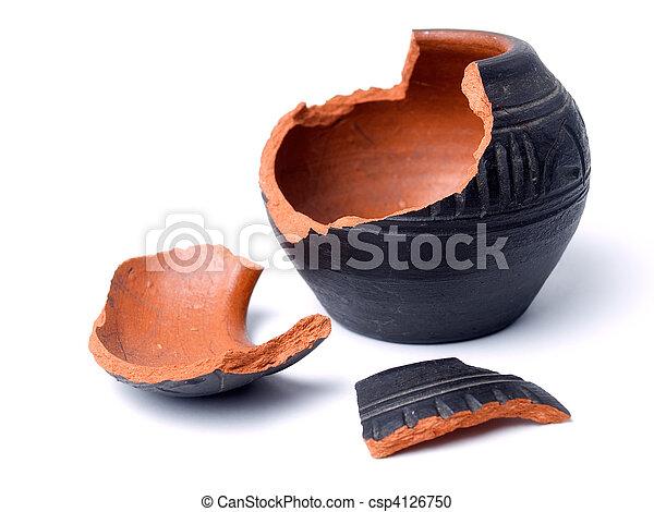 Ancient pot - csp4126750